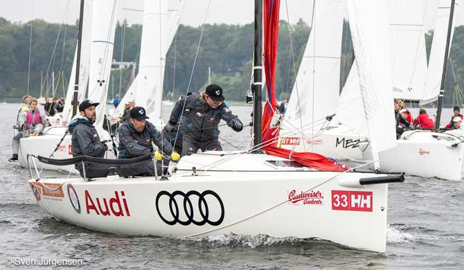 German Open J70, Wannsee, Berlin 28.09.- 02.10.2016